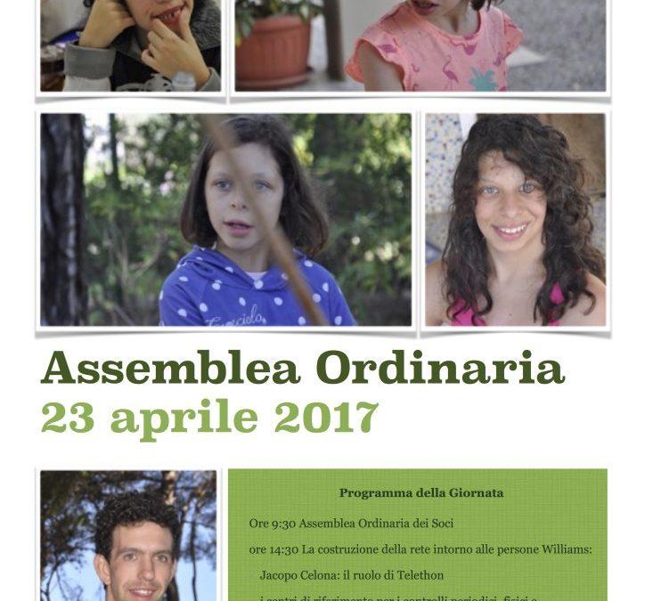 Programma 23 aprile – Assemblea Ordinaria e non solo
