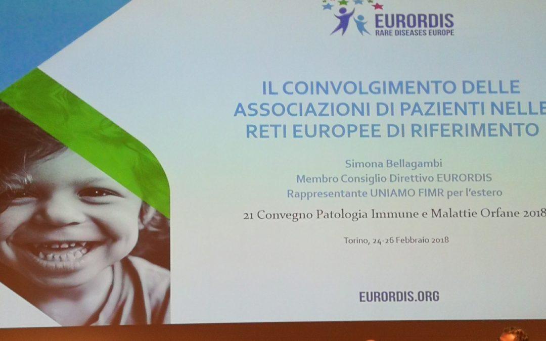 Convegno patologia immune e malattie orfane 2018