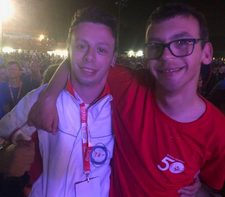 Special Olympics: Giochi Nazionali, Eugenio testimonial