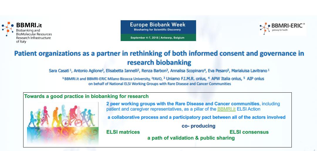 Consenso informato, matrice condivisa con i pazienti