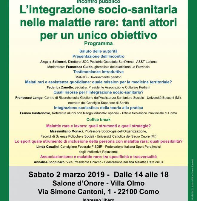 Incontro famiglie in Lombardia e #rdd2019 a Como